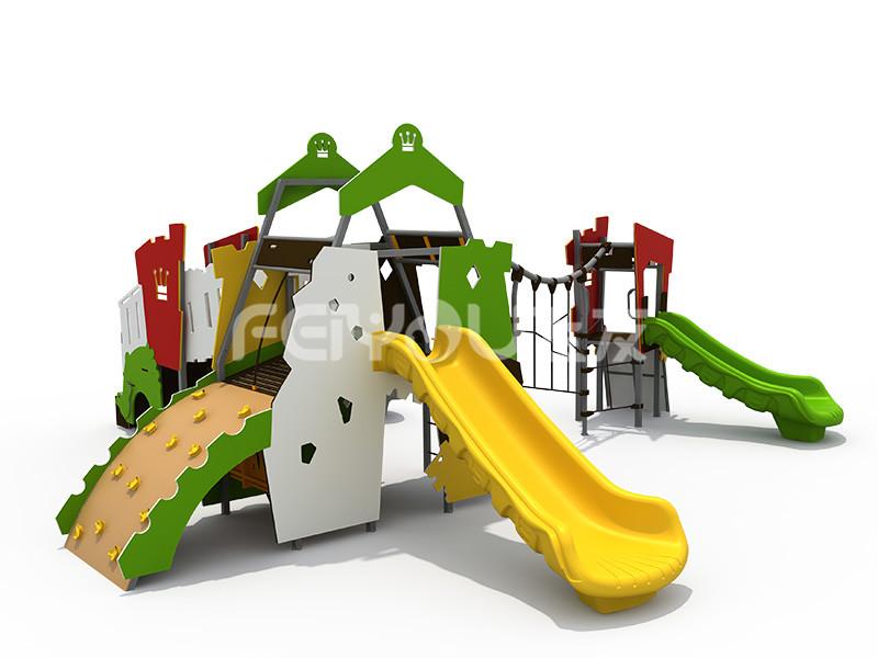 儿童滑梯丰富玩法是孩子的欢乐源泉