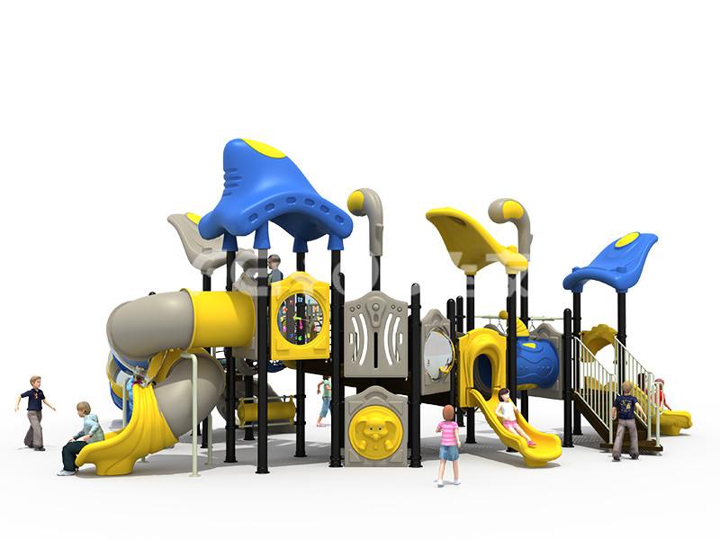 幼儿园滑梯的常规维护