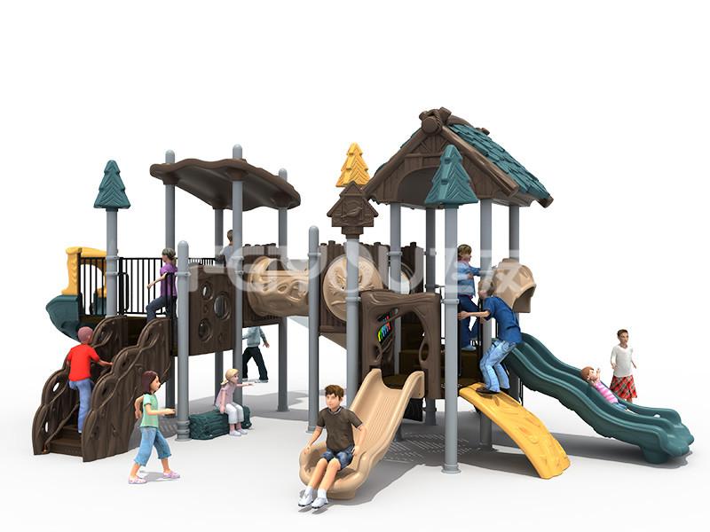 幼儿园滑梯的玩乐融汇教育目标