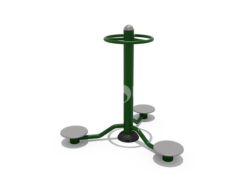 文旅地产配套健身器材三人扭腰器