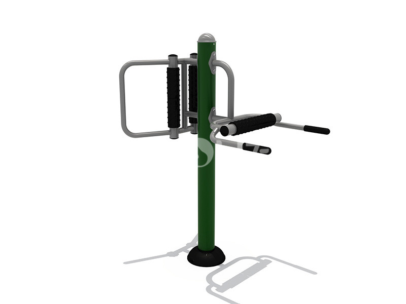 文旅地产配套健身器材背肌训练器的使用说明