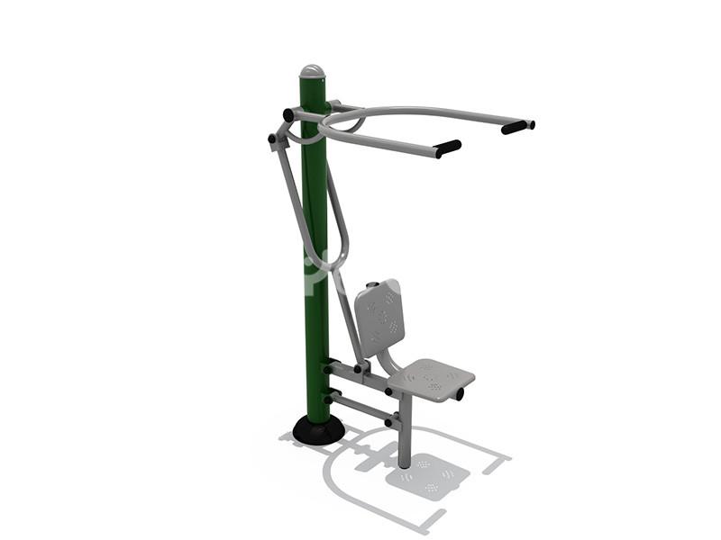 地产配套设施健身器材训练效果