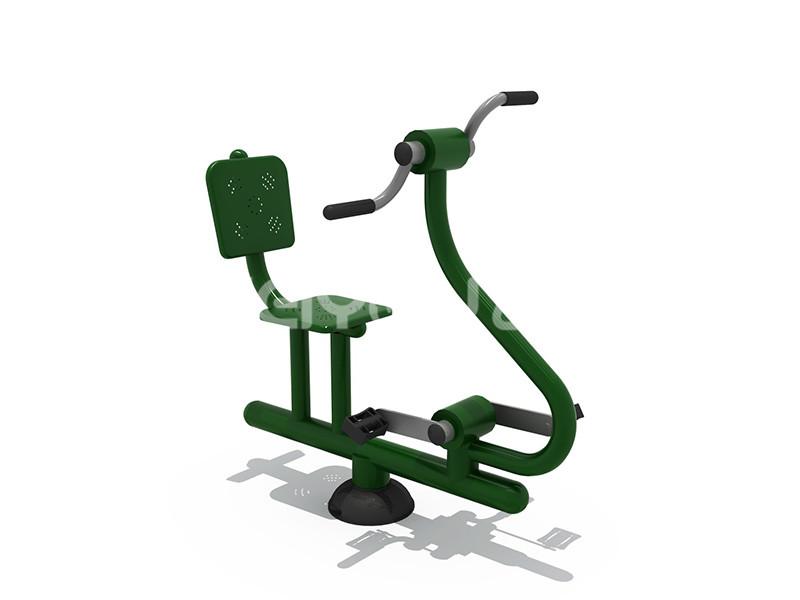 地产配套设施健身器材深受居民喜爱