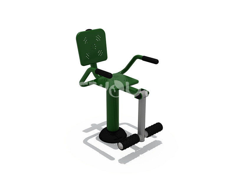 地产配套设施健身器材的工艺说明