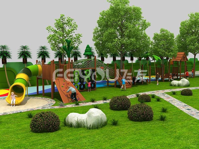 户外儿童游乐设备让孩子成为玩乐的主导者